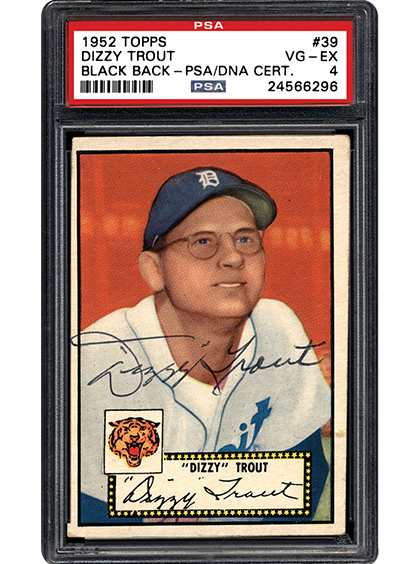 Psa Insider Sign Here A Quest For A Complete 1952 Topps Baseball